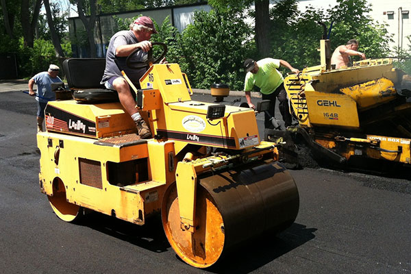 Gordon Paving commercial asphalt paving
